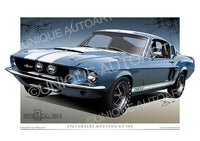 1967 Shelby GT500- Brittany Blue