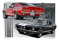 1967 Shelby Mustang- Online Art