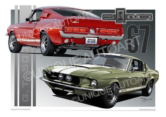 1967 Shelby Mustang- Fastback
