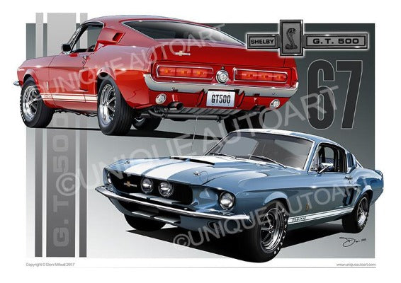 1967 Shelby Mustang- Designs