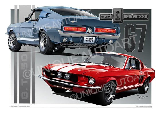 Shelby Mustang - Car Prints