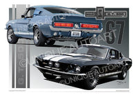 1967 Shelby Mustang- Archival Prints