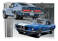 1967 Shelby Mustang- Drawings