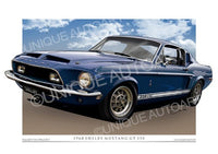 1968 Shelby- Dark Blue Metallic