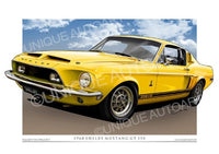 1968 Shelby- WT-6066 Yellow