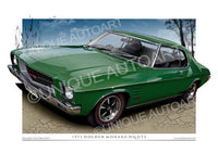 HQ MONARO COUPE- Blackwatch Green