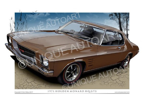 HQ MONARO COUPE- Cinnamon Brown