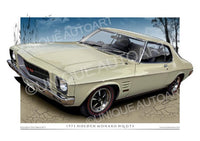 HQ MONARO COUPE- Covert Beige