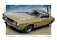 HQ MONARO COUPE- Duchess Gold