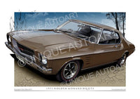 HQ MONARO COUPE- Estoril Bronze