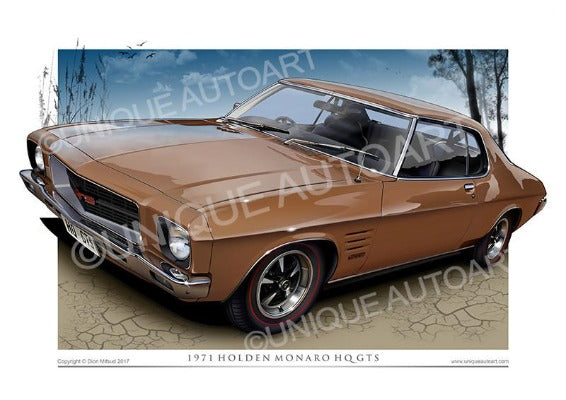 HQ MONARO COUPE- ETRUSCAN GOLD