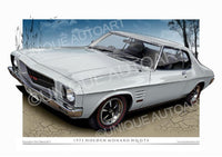 HQ MONARO COUPE- Glacier white