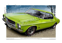 HQ MONARO COUPE- Lina Mint