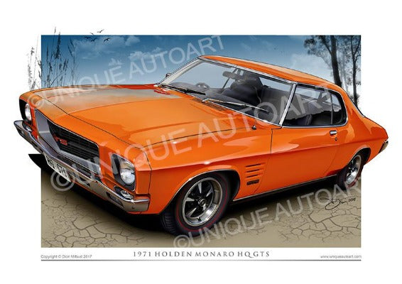 HQ MONARO COUPE- The Lone O' Ranger