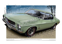 HQ MONARO COUPE- OLIVE GREEN