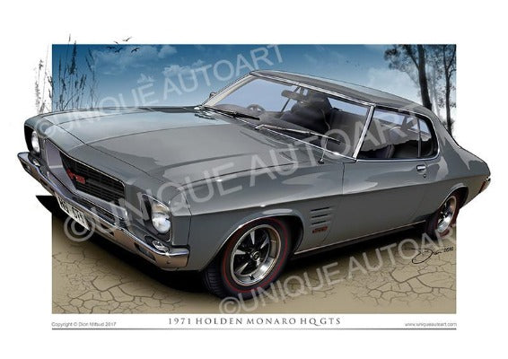 HQ MONARO COUPE- Phantom Grey