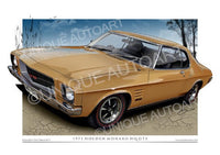 HQ MONARO COUPE- San Remo Gold