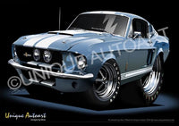 1967 Shelby - Brittany Blue