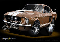 1967 Shelby GT500 - Bronze MEtallic