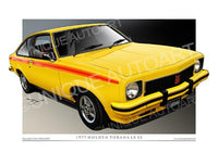 1977 LX SS ABSINTH YELLOW