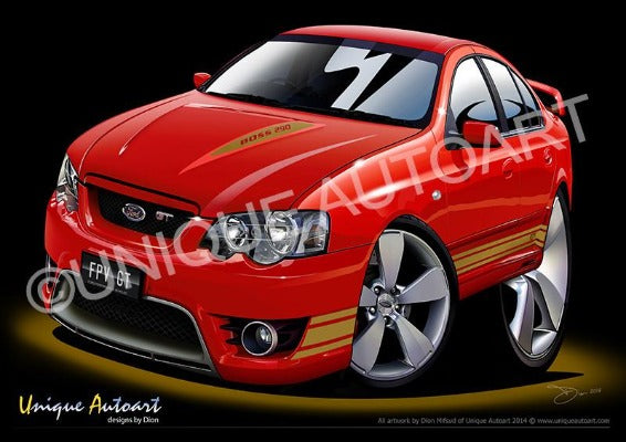 FPV FORD- ART PRINTS