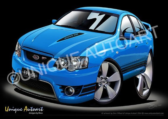 FPV FORD- ARTWORK