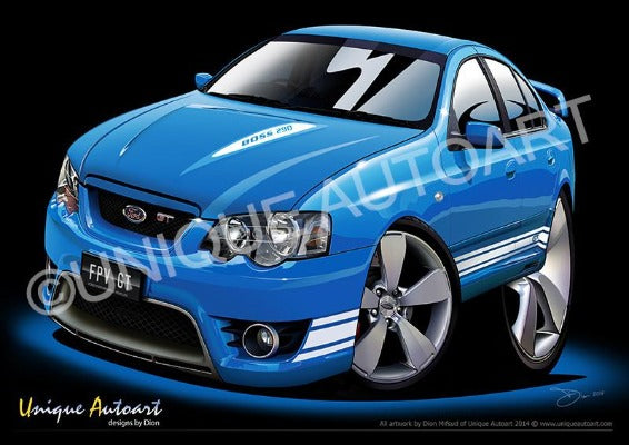 FPV FORD- DRAWINGS