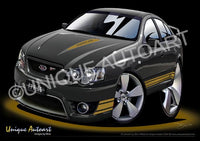 FPV FORD- CAR ART