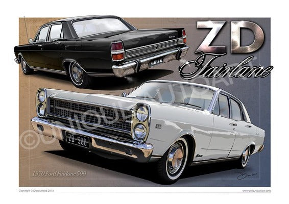 ZD FORD FAIRLANE 500