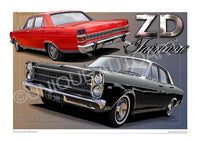 FORD GIFTS - ZD FAIRLANE PRINTS