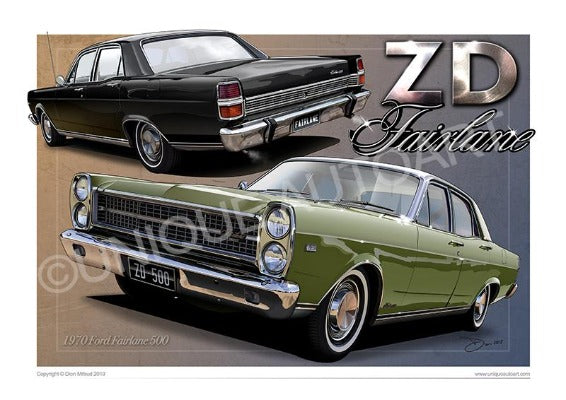LIME FROST ZD FAIRLANE