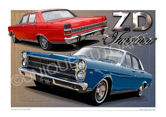 STARLIGHT BLUE ZD FAIRLANE