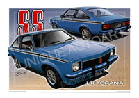 HOLDEN TORANA - WINDSOR BLUE