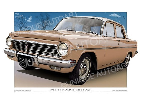 OLD HOLDEN CAR DRAWINGS - QUANDONG