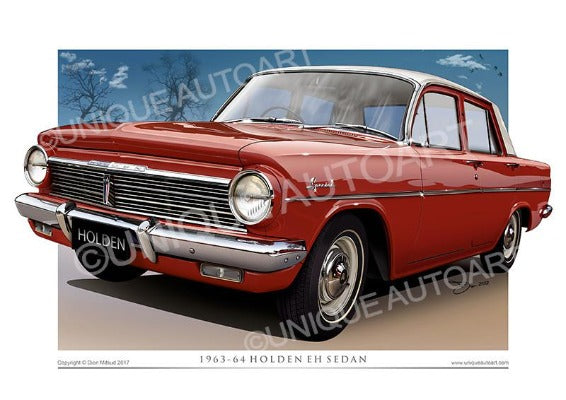 EH HOLDEN- WINTON RED