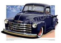 1953 ENSIGN BLUE CHEVY