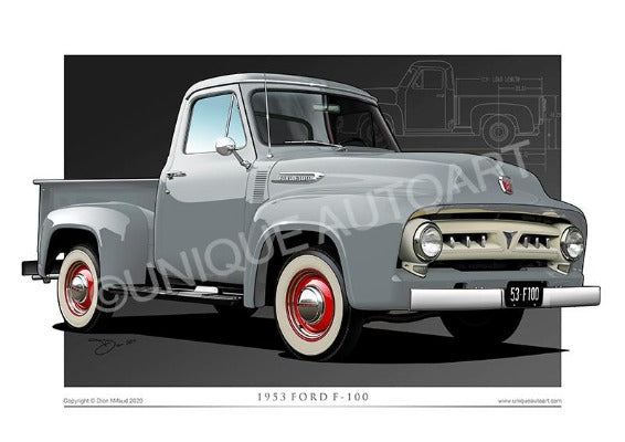 FORD TRUCK PRINTS