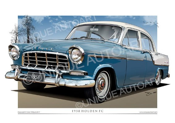 FC Holden- Cambridge Blue