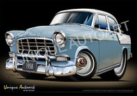 1958 FC HOLDEN DRAWING - PRINTS