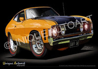 Ford XA GT- Yellow Fire