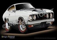 XB GT FALCON COUPE - Ultra White