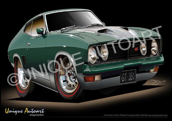 XBGT COUPE- Sherwood green
