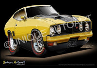 XB GT COUPE - Yellow Blaze