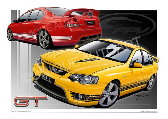 Ford Muscle Car Prints - Rapid