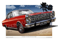 ZC Fairlane - Candy Apple Red