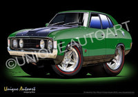 Falcon GT Automotive Art Prints
