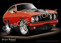XB Falcon Gt- Red Pepper