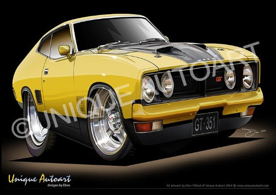 XB GT- Yellow blaze