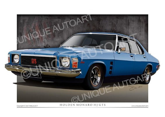 HJ Monaro- Casino BLue
