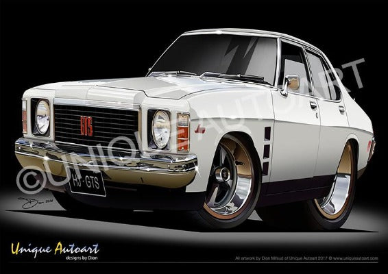 GTS MONARO - COTILLION WHITE